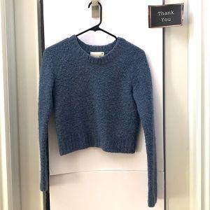 BLUE Wilfred Free Meridian Crop Sweater